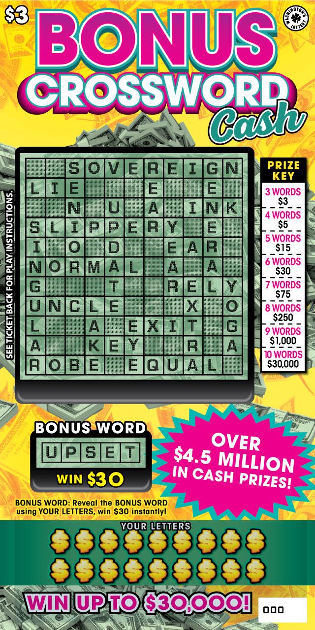 Washingtons Lottery Scratch Explorer